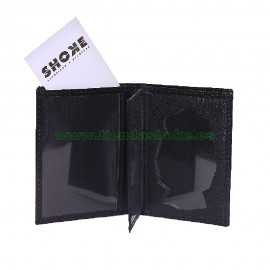 Portacarnet tipo libro calidad superior para placa Policia Nacional