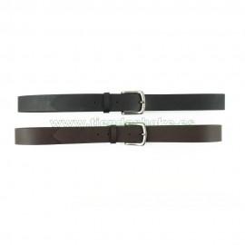 Cinturones de cuero paisano 3,5cm liso