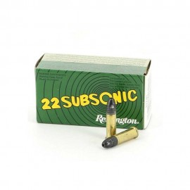 Cartucho Remington Cal.22 Subsonic