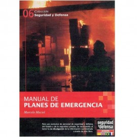 Manual de planes de emergencias