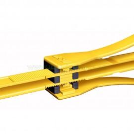 Tri-Fold ASP de servicio un solo uso Amarillo