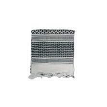 Pañuelo SHEMAG Mil-Tec 120x120 blanco-negro