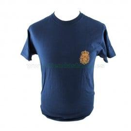 Camiseta emblema CNP delante/detrás