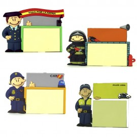 Iman personalizado Policia, Bomberos, Guardia Civil