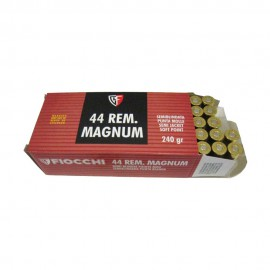 Cartucho FIOCCHI cal. 44 Magnum 240 gr