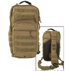 Mochila Mil-Tec Assault One Strap coyote 29 litros