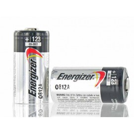 Pila Litio ENERGIZER CR123A