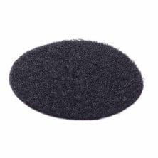 Velcro placa vigilante de seguridad PVC negro