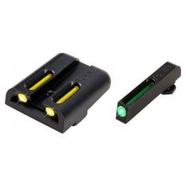 Miras TRUGLO tritio y fibra optica Glock 26,17,19