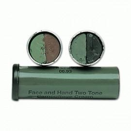 Tubo pintura camuflaje Mil Tec color negro-verde