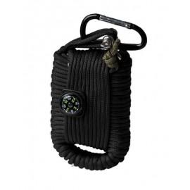 Kit de supervivencia Mil-Tec negro