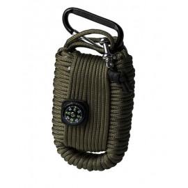 Kit de supervivencia Mil-Tec paracord
