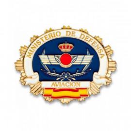 Placa cartera Aviación Española