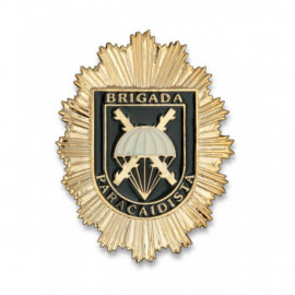 Placa cartera Brigada Paracaidista