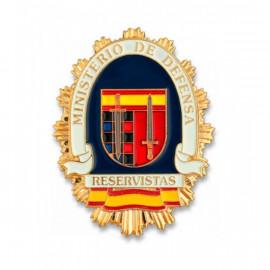 Placa Reservistas Ejército Español