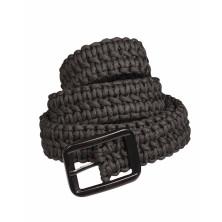 Cinturon Mil-Tec paracord negro