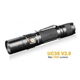 Linterna táctica FENIX UC35 V2 1000 lumens