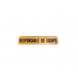Emblema responsable de equipo