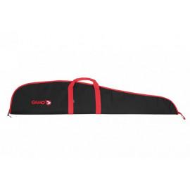 Funda carabina GAMO 120cm con visor negra/roja