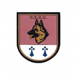 Distintivo especialidad UEGC c/ velcro