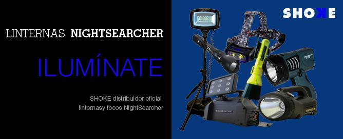 linternas policiales NightSearcher