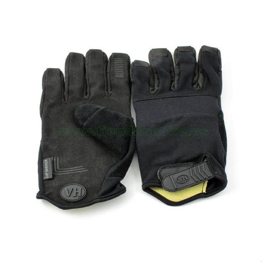 Guantes anticorte y pinchazos Vega fabricado con Spandex y neopreno en la parte de los nudillos y seguridad extra en la palma de la mano