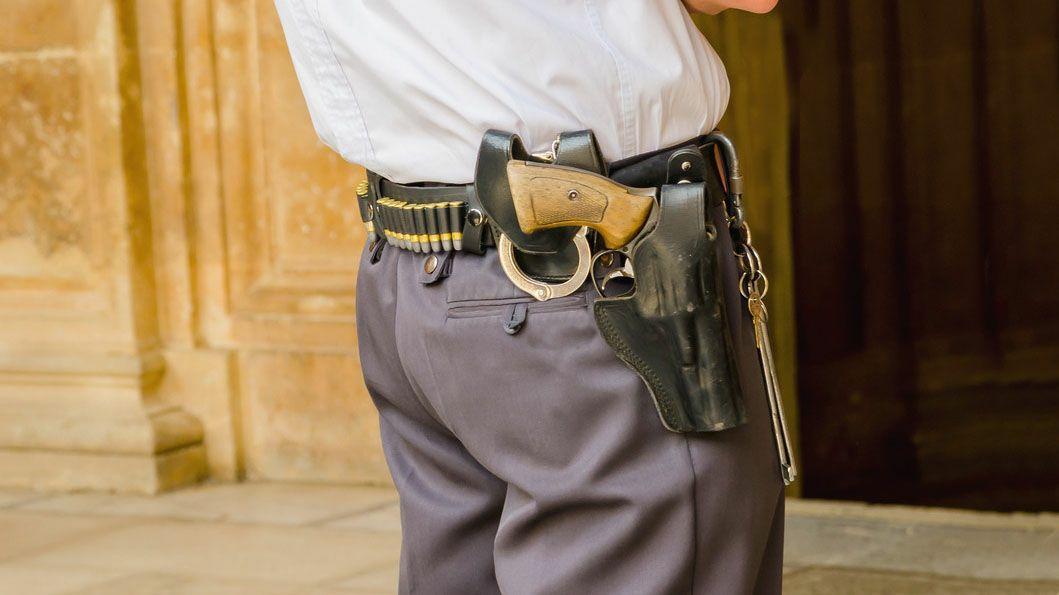 Taller de armas y armas de segunda mano para vigilantes de seguridad