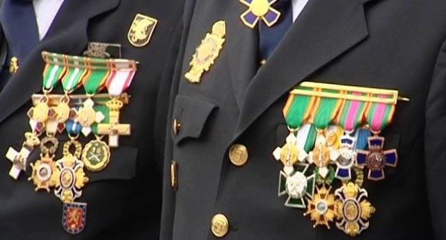 ¿Conoces las principales condecoraciones de seguridad?