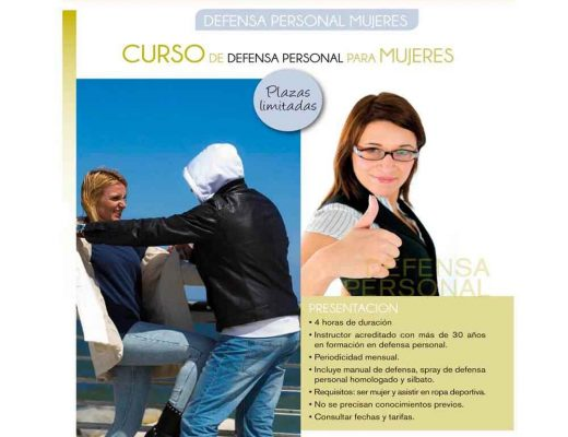 Curso para mujeres de defensa personal