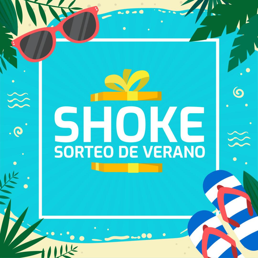 ¡Participa en el sorteo veraniego de Tienda Shoke!