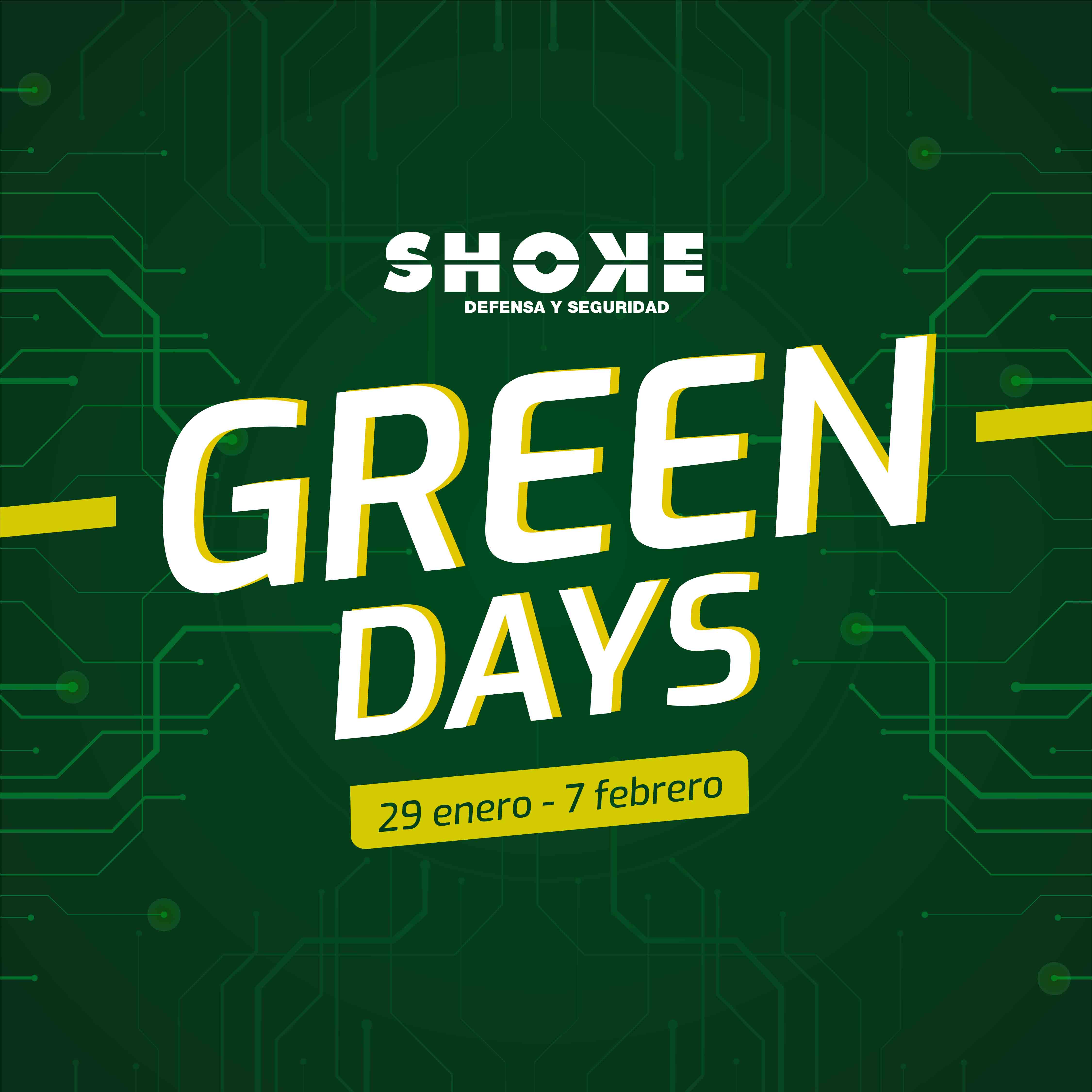 Vuelven los Green Days: ¡vuelven los descuentazos a Tienda Shoke!