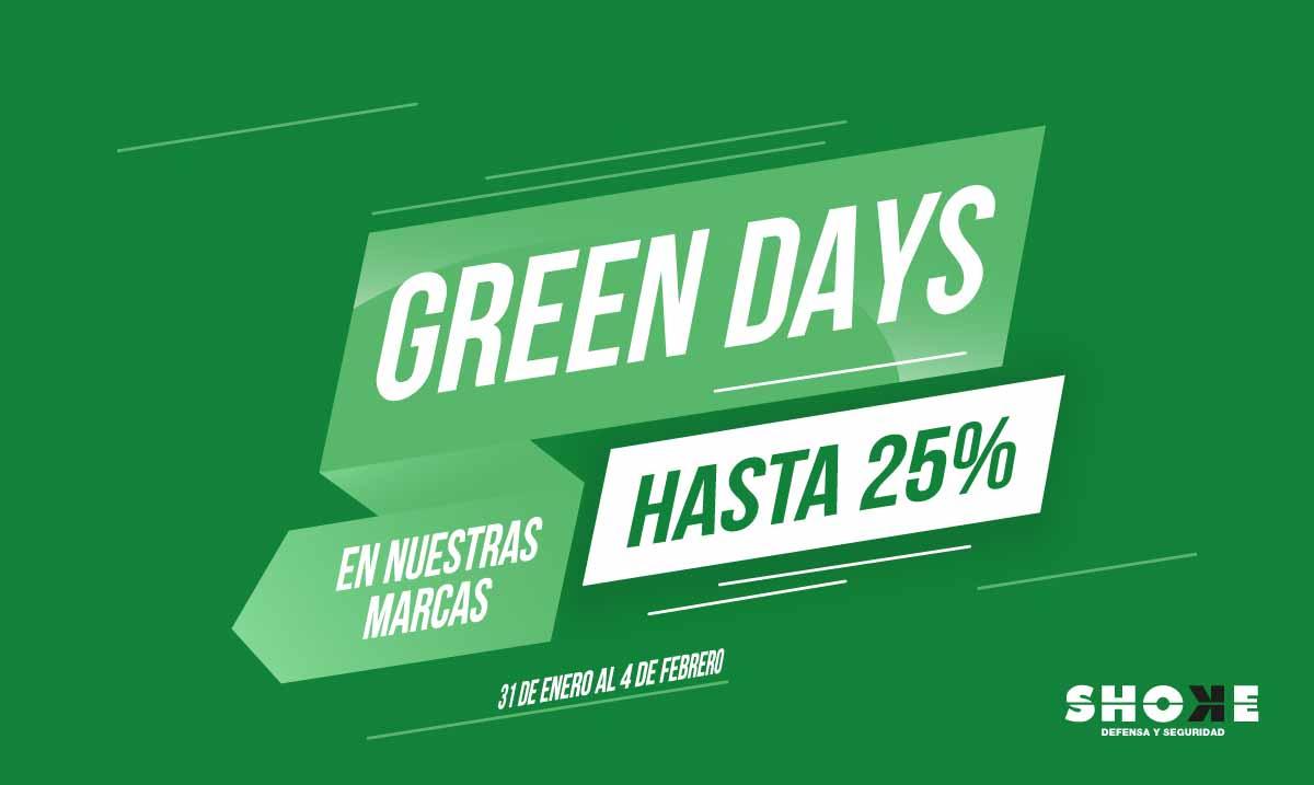 Regresan los descuentos de los Green Days