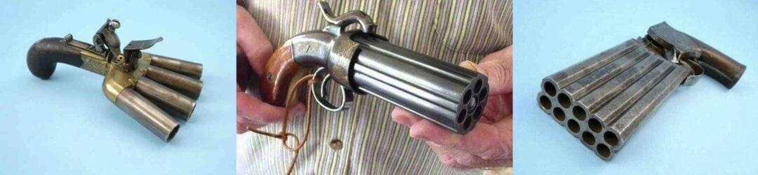 Las armas mas raras multicañon