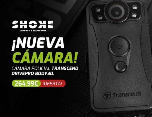 ¿Conoces la nueva cámara policial de tienda shoke?