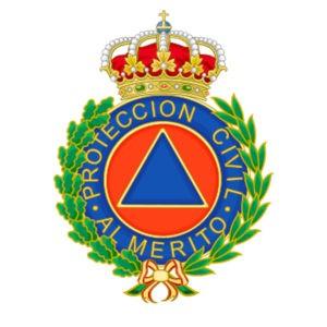 Imagen de la concecoración a la protección civil