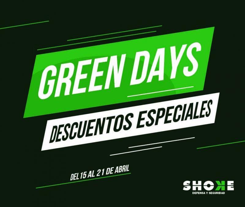 Vuelven los Green Days a Shoke