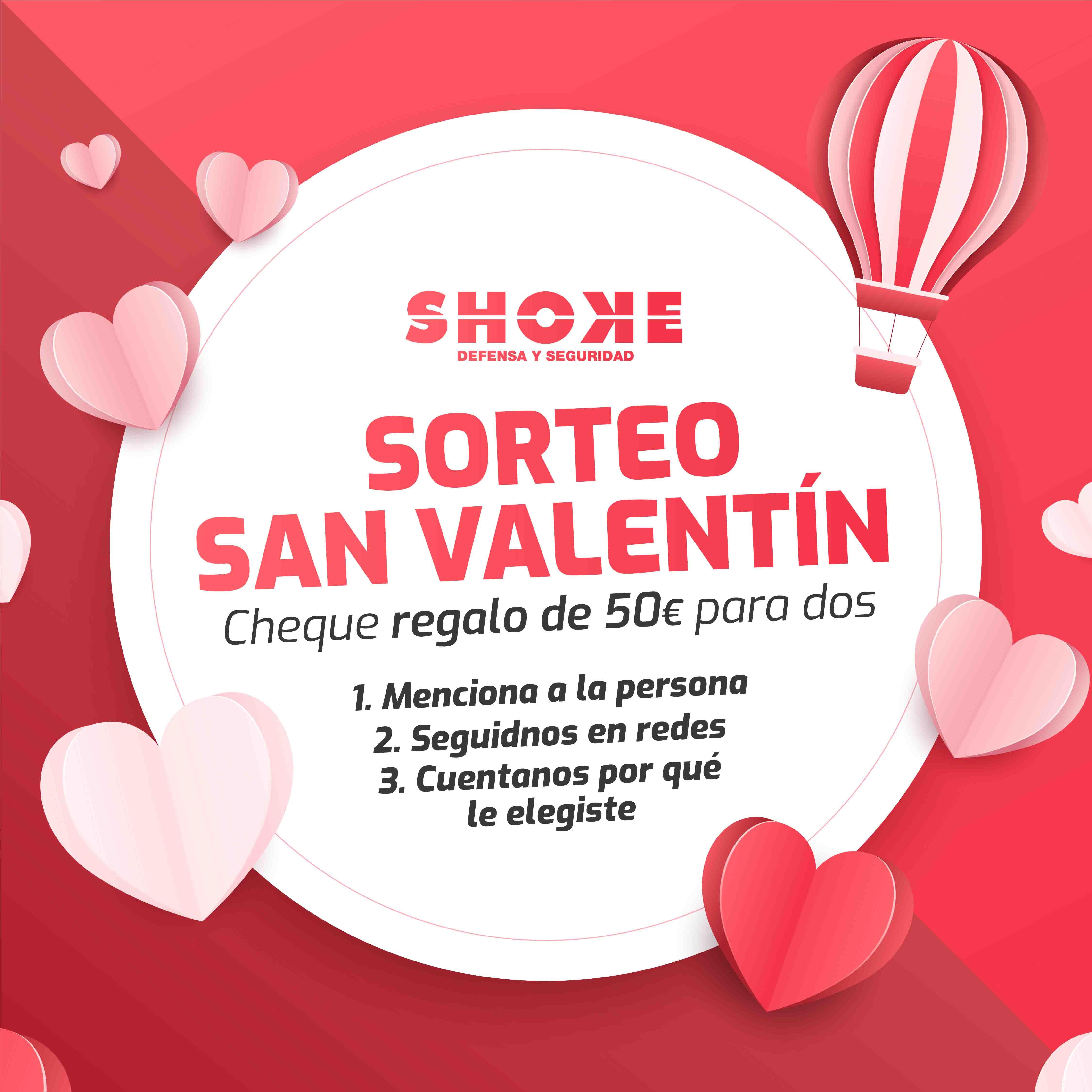 SORTEO: ¡Regala seguridad también en San Valentín!