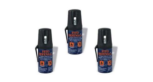 Conoce las características del spray de defensa personal