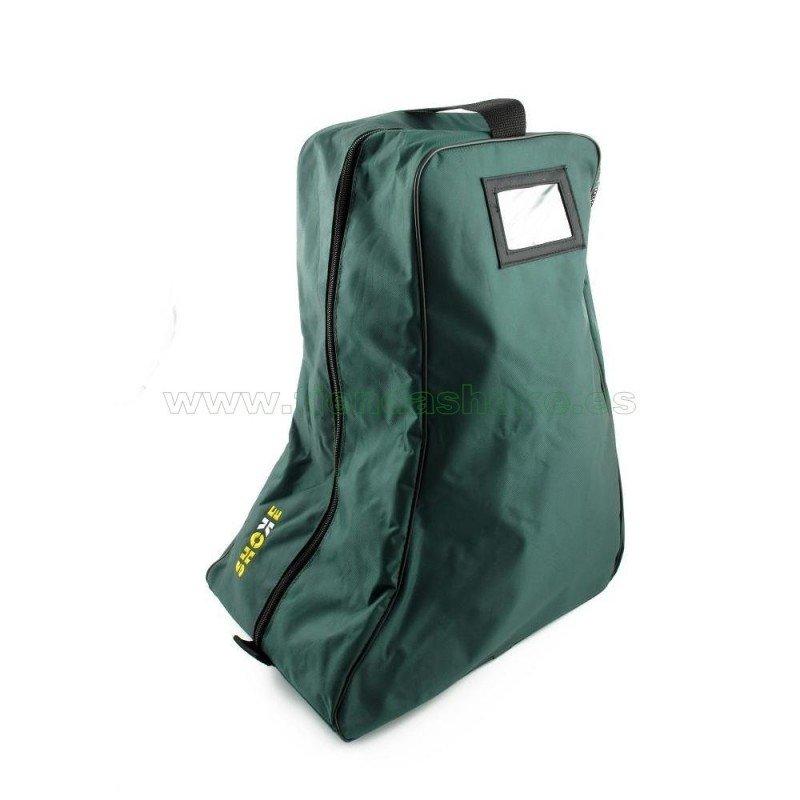 Entre los accesorios o complementos para las botas militares está esta bolsa de transporte