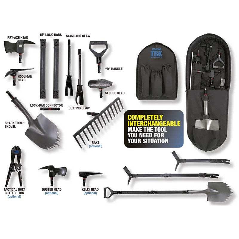 ¿Sabes qué es el kit de herramientas tácticas e apertura?