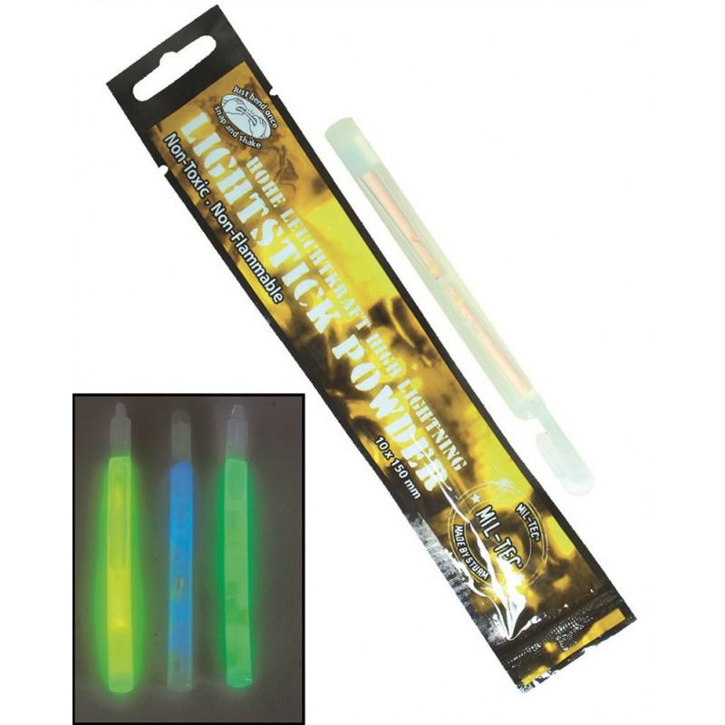 La luz química es otro de los productos de supervivencia imprescindibles