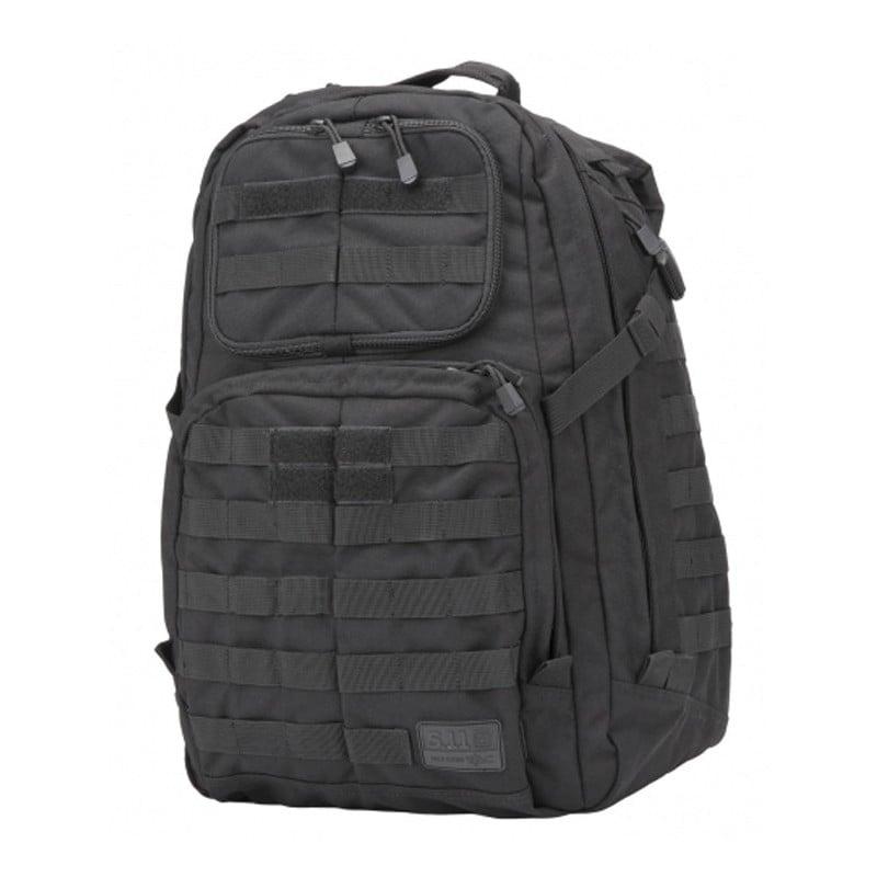 Entre las mochilas militares, esta tiene una capacidad de almacenamiento medio