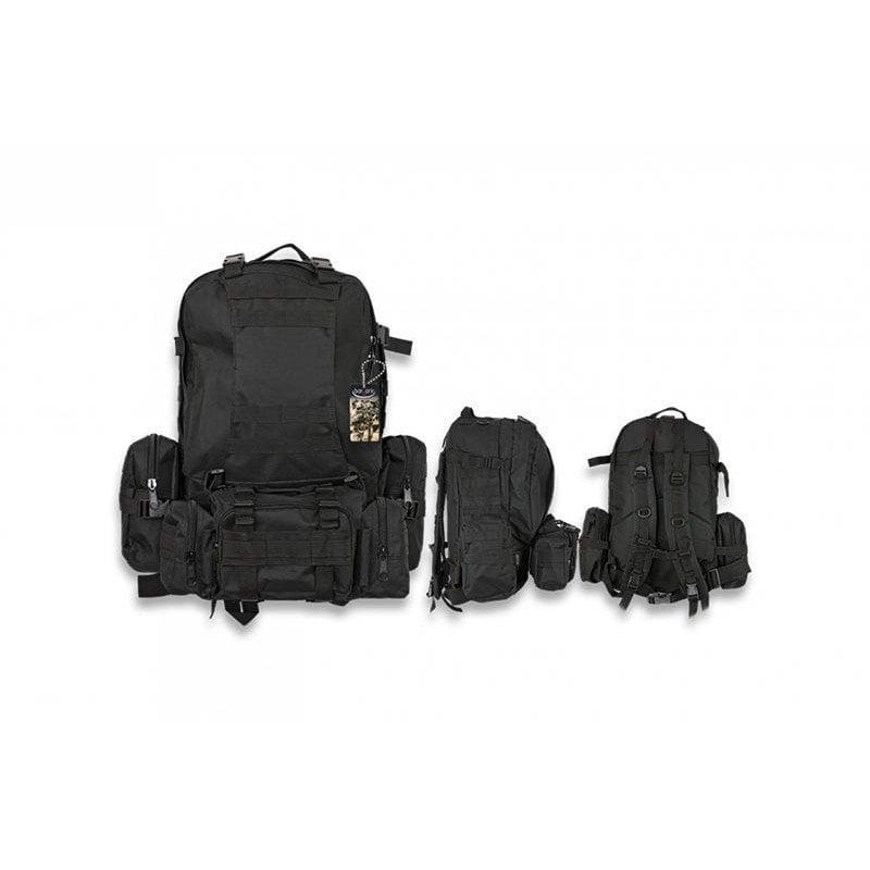 50 litros de capacidad hacen de esta una de las mejores mochilas militares