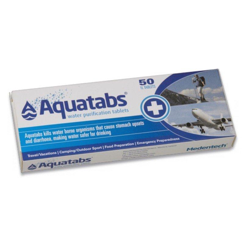 Productos de supervivencia imprescindibles: pastillas potabilizadoras de agua