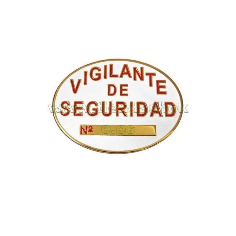 Legislación para conseguir la placa de vigilante de seguridad