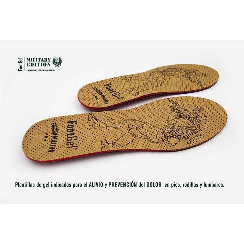 Las plantillas de footgel, uno de los mejores accesorios o complementos para las botas militares