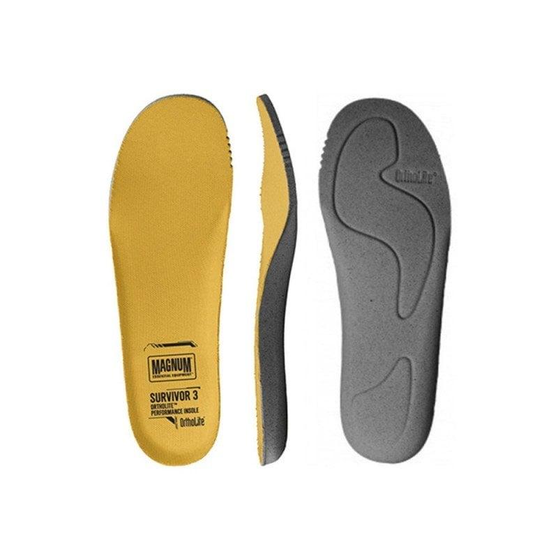 Uno de los mejores complementos o accesorios de botas militares las plantillas Magnum