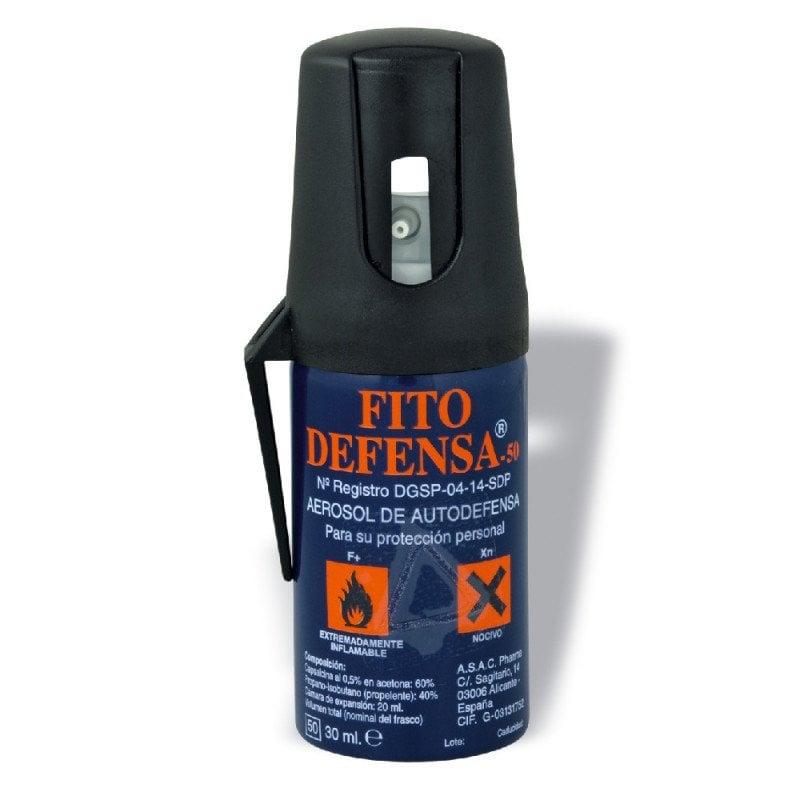 Una de las mejores opciones de seguridad personal nocturna es el spray Fito Defensa