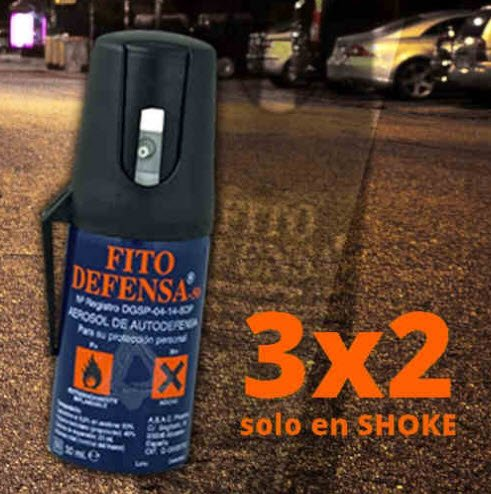 Oferta Spray de Defensa Fito 3x2