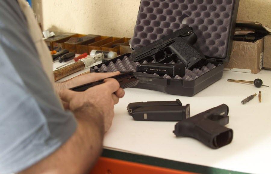 taller reparación armas aire comprimido
